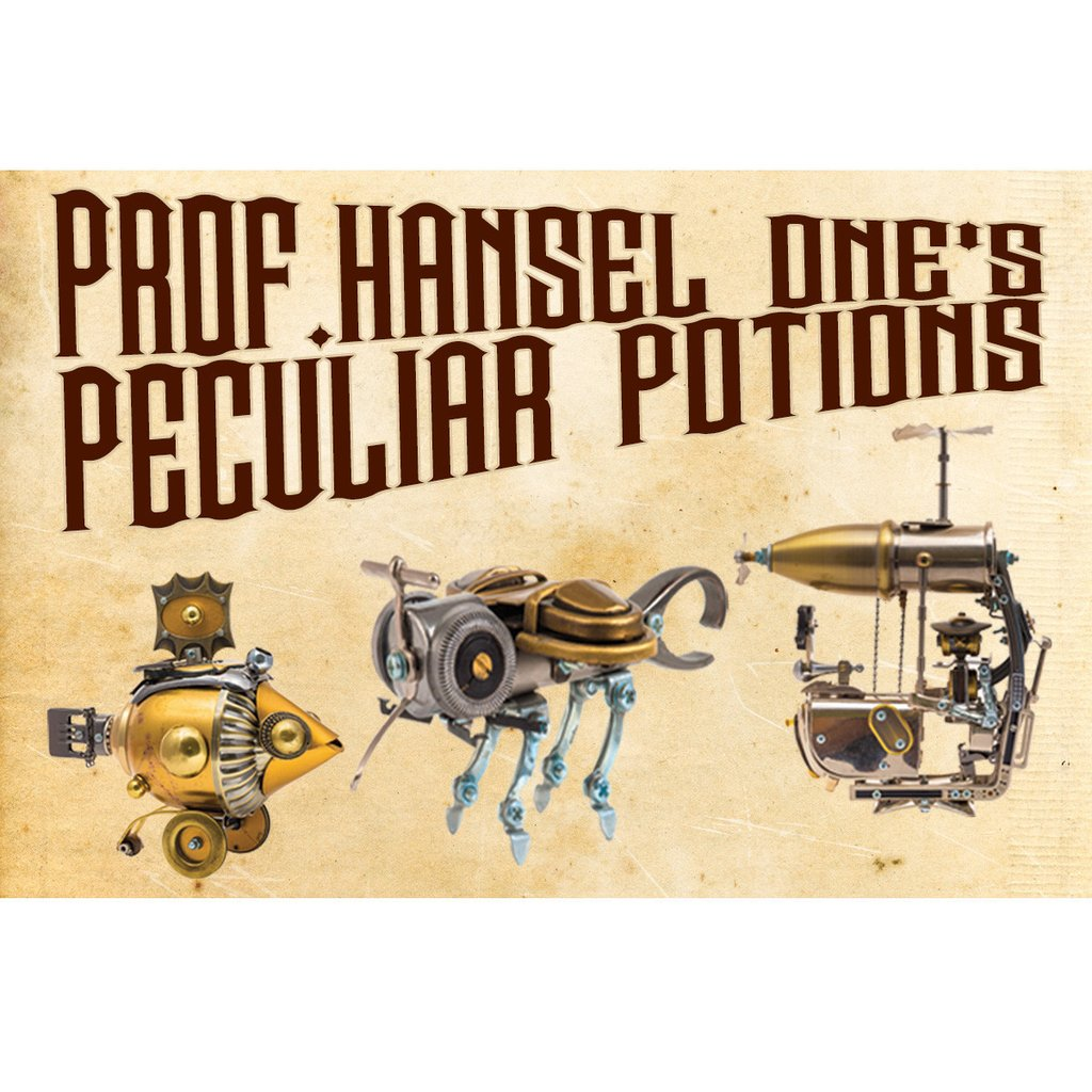 Prof. Hansel One's Peculiar Potions